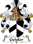 German Wappen Coat of Arms for Geisler