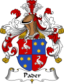 German Wappen Coat of Arms for Pader