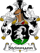 German Wappen Coat of Arms for Steinmann