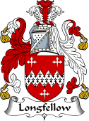 English Coat of Arms for Longfellow