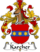 German Wappen Coat of Arms for Karcher