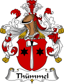 German Wappen Coat of Arms for Thümmel