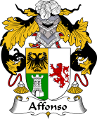 Portuguese Coat of Arms for Affonso