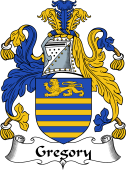 Irish Coat of Arms for Gregory