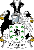 Irish Coat of Arms for Gallagher