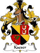 German Wappen Coat of Arms for Kaeser