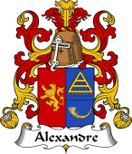 Coat of Arms from France for Alexandre