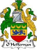 Irish Coat of Arms for O'Heffernan
