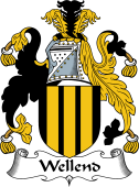 English Coat of Arms for Wellend