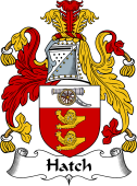Irish Coat of Arms for Hatch