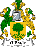 Irish Coat of Arms for O'Boyle