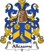 Coat of Arms from France for Alleaume