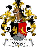 German Wappen Coat of Arms for Wieser
