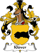 German Wappen Coat of Arms for Klüver