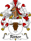 German Coat of Arms for Ritter