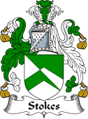 Irish Coat of Arms for Stokes