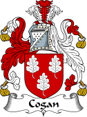 Irish Coat of Arms for Cogan or Gogan
