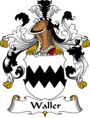 German Coat of Arms for Waller