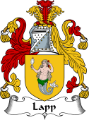 English Coat of Arms for Lapp