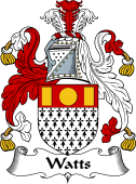 English Coat of Arms for Watts