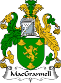Irish Coat of Arms for MacGrannell or Graney