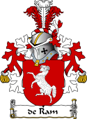 Dutch Coat of Arms for de Ram