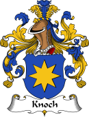 German Wappen Coat of Arms for Knoch