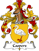 German Coat of Arms for Caspers