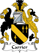 English Coat of Arms for Carrier