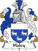 English Coat of Arms for Haley