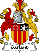 English Coat of Arms for Garland
