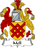 English Coat of Arms for Mell
