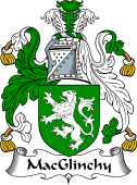 Irish Coat of Arms for MacGlinchy or Clinchy