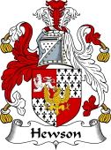 Irish Coat of Arms for Hewson