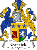 English Coat of Arms for Garrick