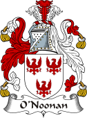 Irish Coat of Arms for O'Noonan