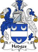 English Coat of Arms for Hodges