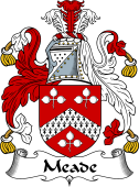 Irish Coat of Arms for Meade