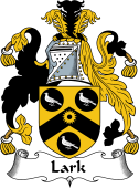 English Coat of Arms for Lark