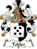 German Wappen Coat of Arms for Tobler