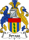 English Coat of Arms for Spragg