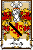 Scottish Coat of Arms Bookplate for Abernethy