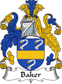 Irish Coat of Arms for Baker