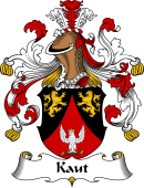German Wappen Coat of Arms for Kaut