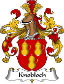 German Wappen Coat of Arms for Knobloch