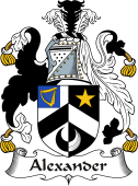 Irish Coat of Arms for Alexander
