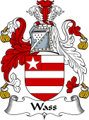 English Coat of Arms for Wass