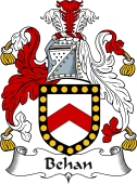 Irish Coat of Arms for Behan or Beaghan
