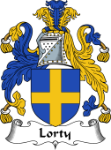 English Coat of Arms for Lorty