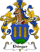 German Wappen Coat of Arms for Ehinger